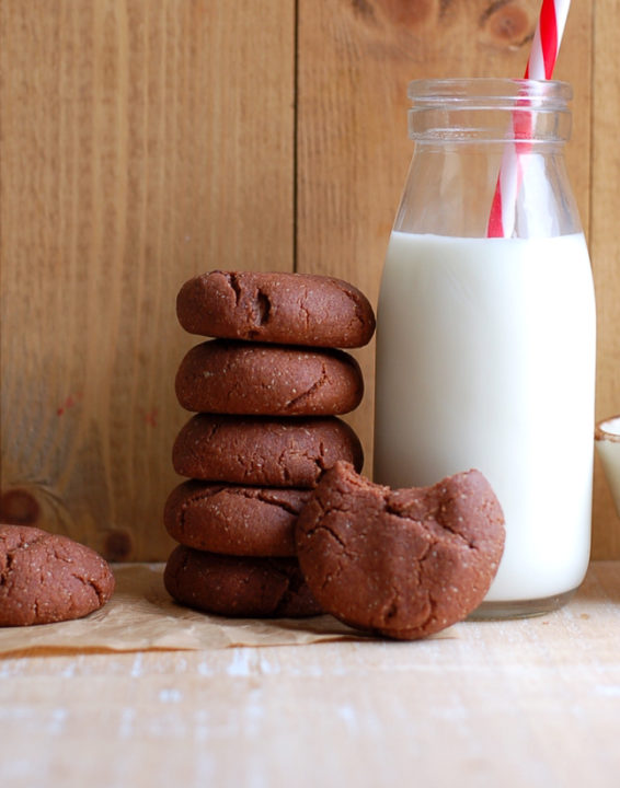 Double Chocolate Almond Butter Cookies