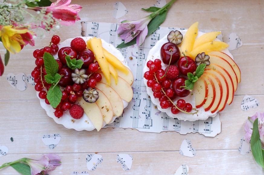 Berry Tarts with Coconut Cream