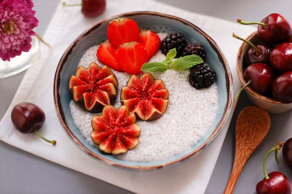 Creamy Coconut and Vanilla Chia Pudding