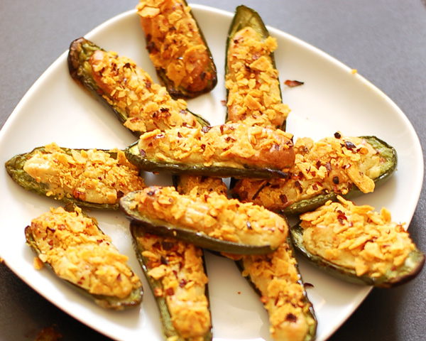 Jalapeno Poppers with Cashew Cheese