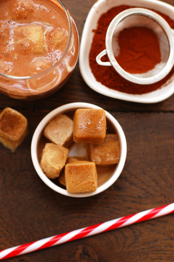 Creamy Coffee Ice Cubes