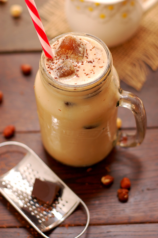 Delicious Iced Vanilla Bean Coffee