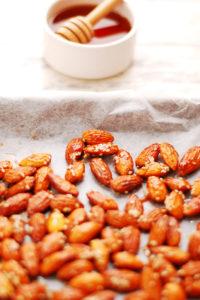 Maple Glazed Roasted Almonds