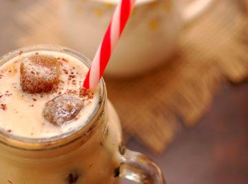 Iced Coffee with Vanilla and Cinnamon