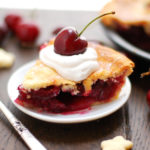 Cherry Whipped Cream Pie