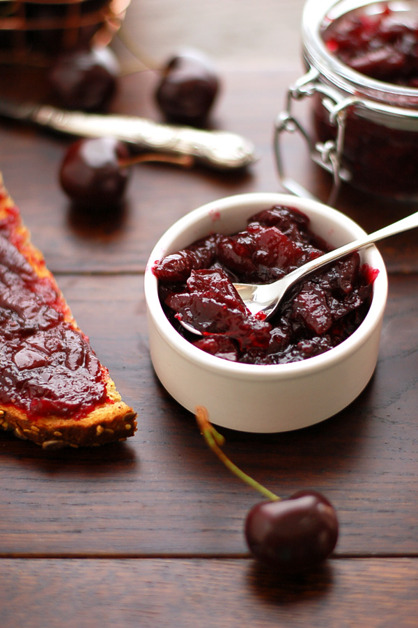 Cherry Jam with Cinnamon