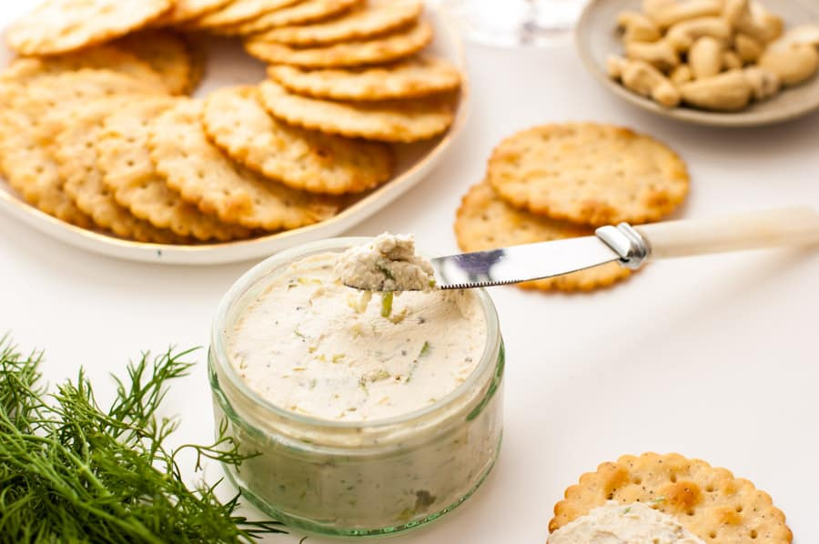 Cashew Cream Cheese with Herbs