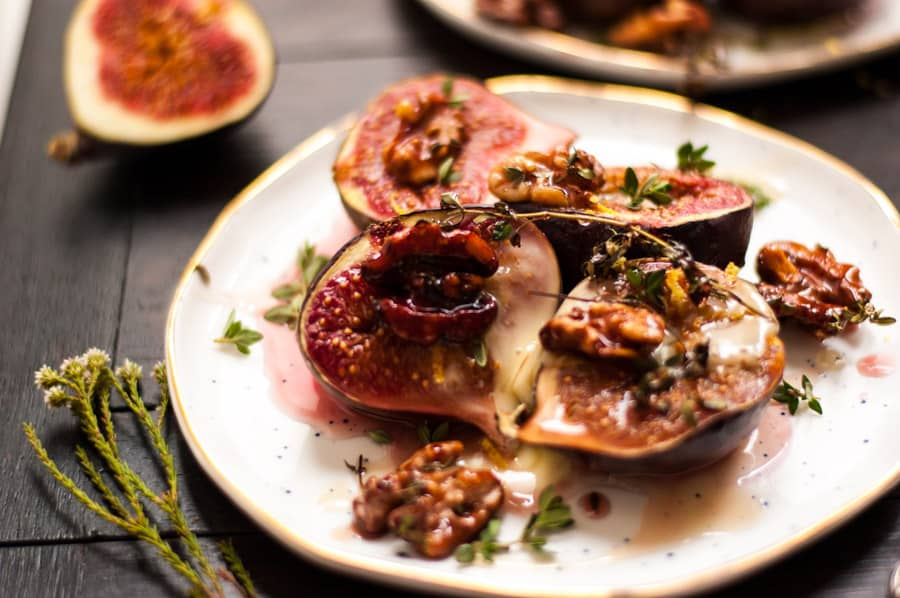 Baked Figs with Thyme