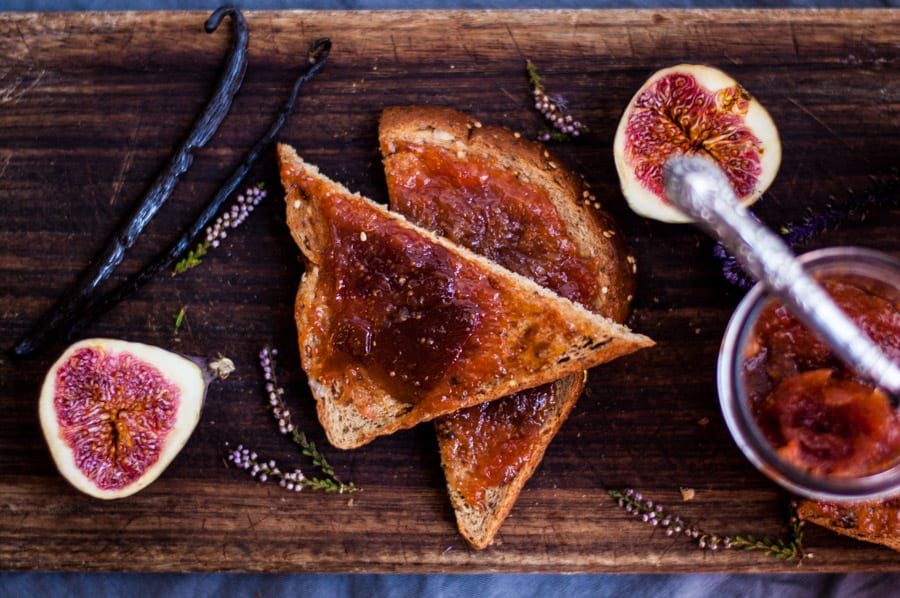 Fig Jam with Vanilla