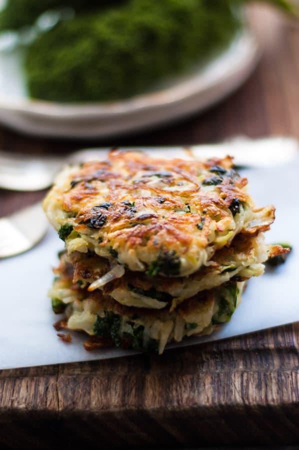 Potato Rosti with Kale
