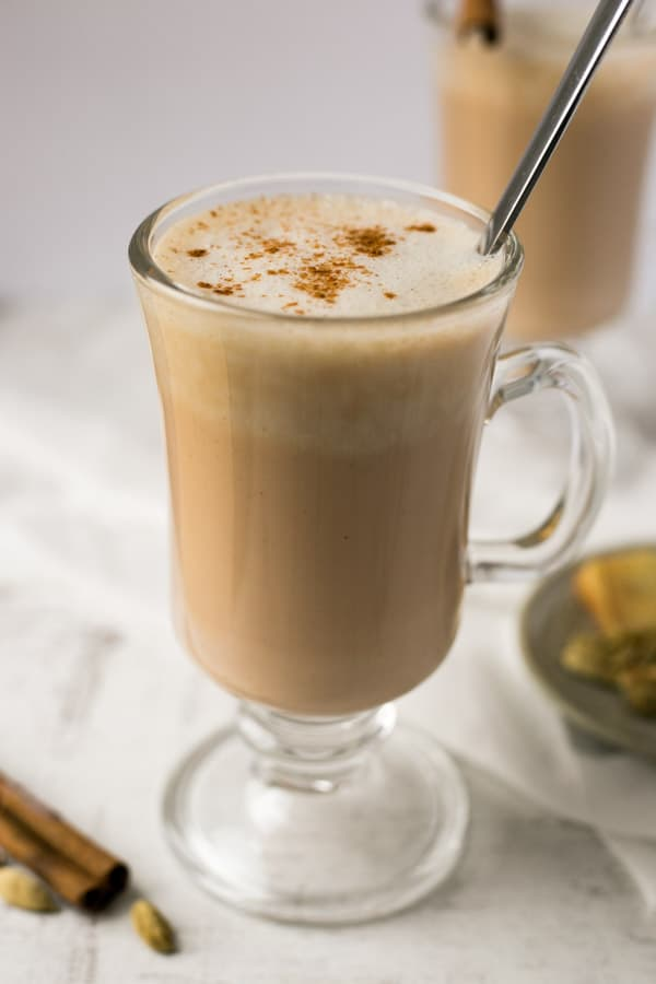 Spicy Chai Latte (Vegan)