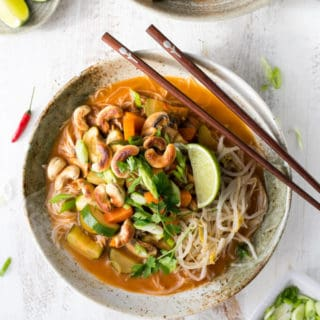 Thai Red Curry Noodles (Khao Soi)