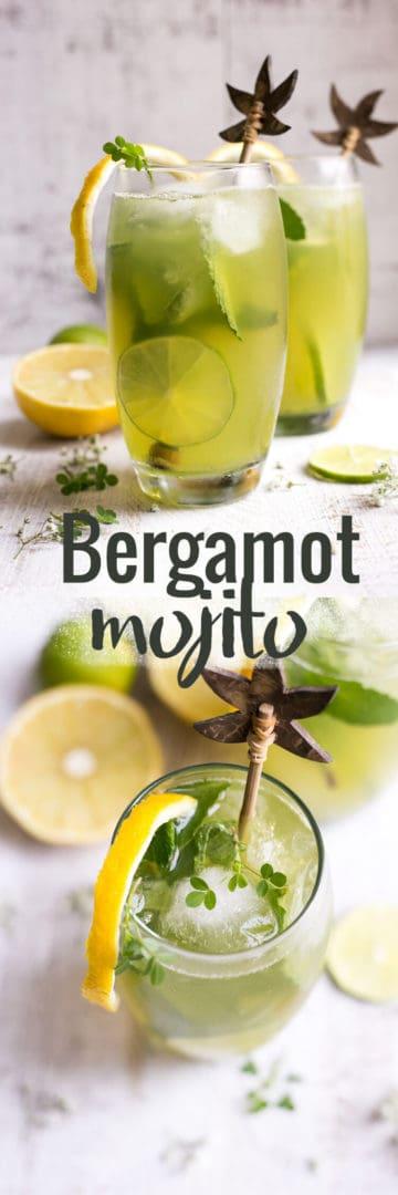 Beautifully fragrant bergamot mojitos with fresh mint and Sorrento lemons | via @annabanana.co