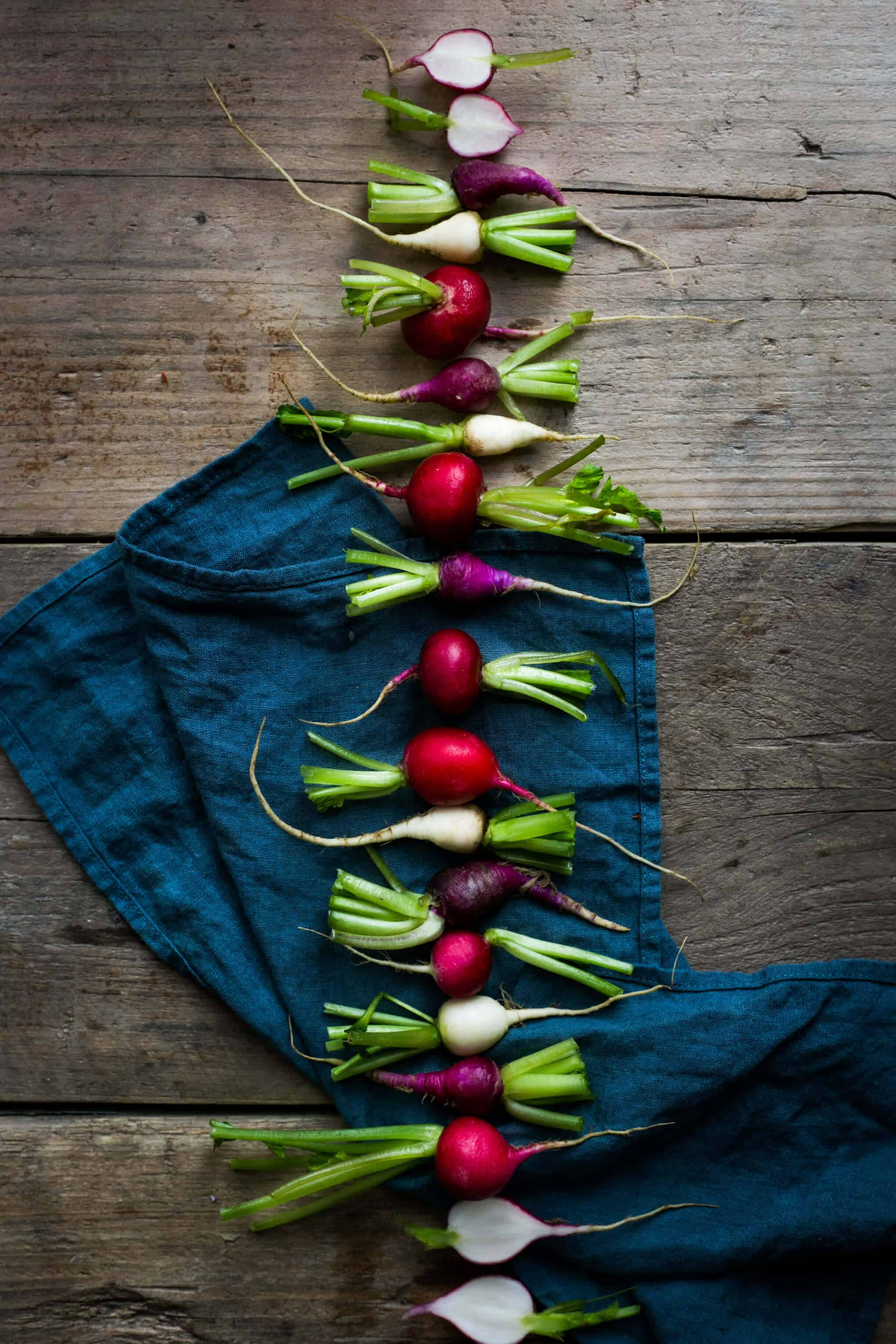 Breakfast Radishes | Food Photography Tips For Beginners- Bonus Material! Sign up now and receive a mini- series full of handy tips! | via @annabanana.co