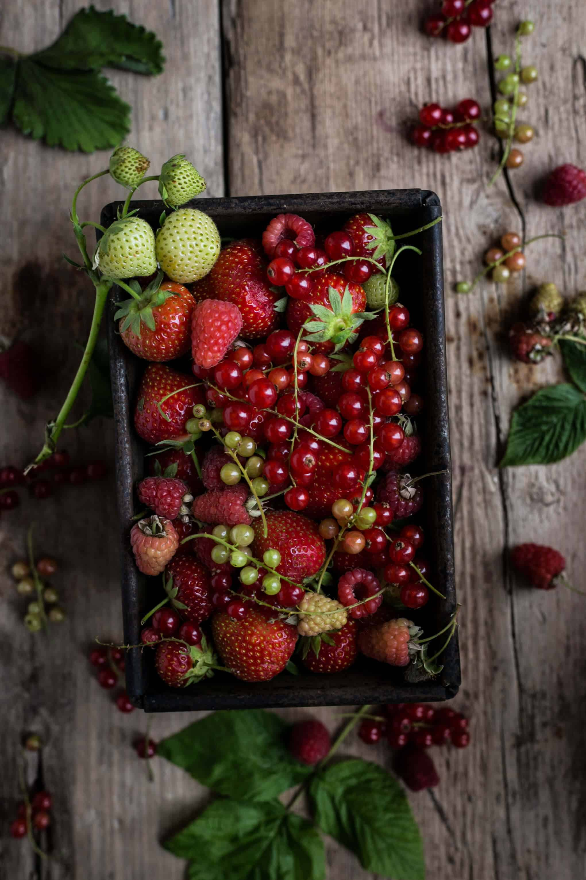 Summer Berries | Food Photography Tips For Beginners- Bonus Material! Sign up now and receive a mini- series full of handy tips! | via @annabanana.co