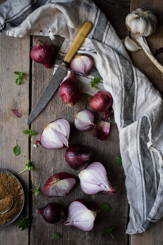 Red Onion Jam (+ Mushrooms on Toast) | Anna Banana