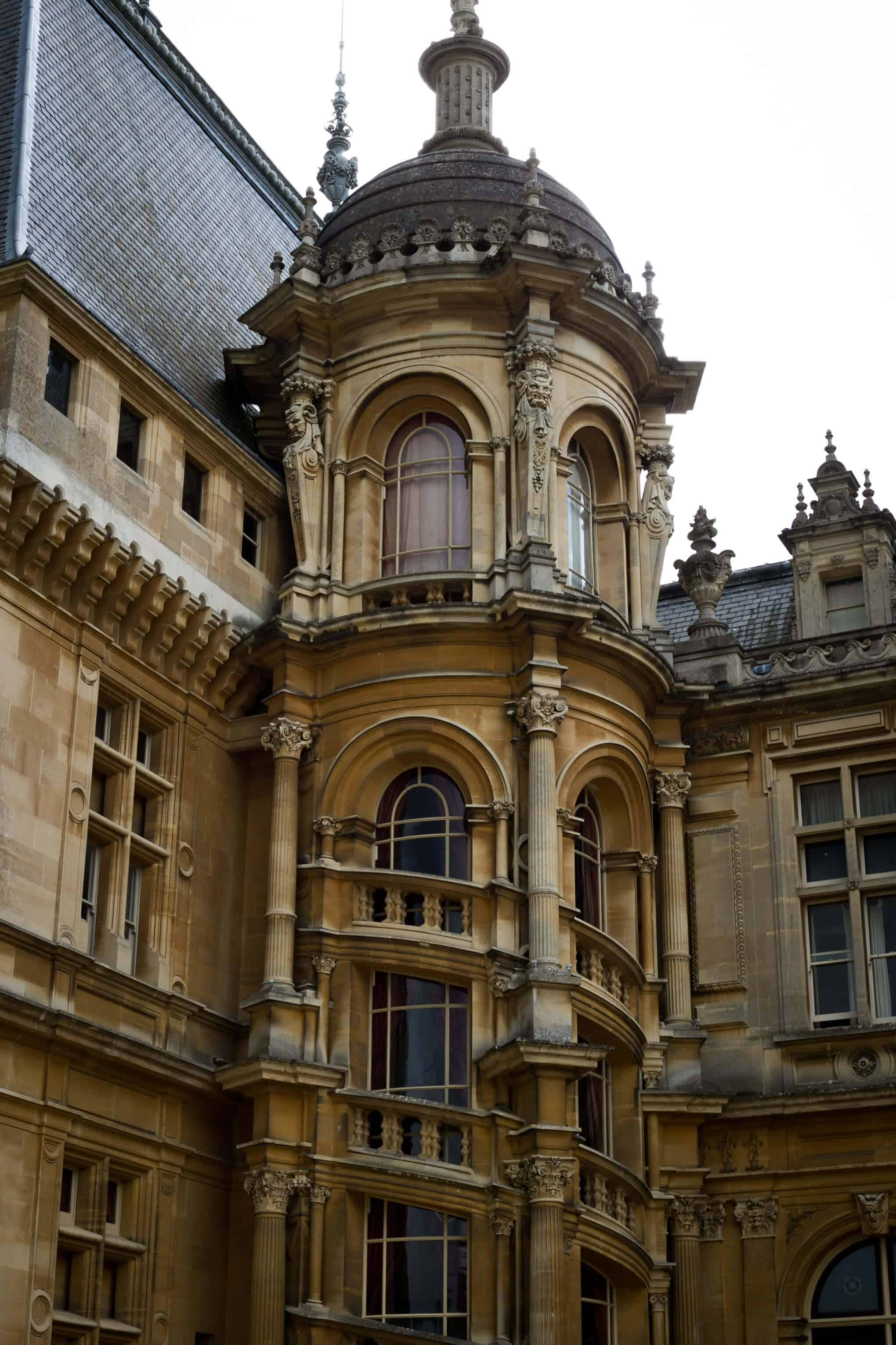Waddesdon manor in Buckinghamshire | via @annabanana.co