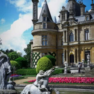 Beautiful Waddesdon Manor in Buckinghamshire | via @annabanana.co