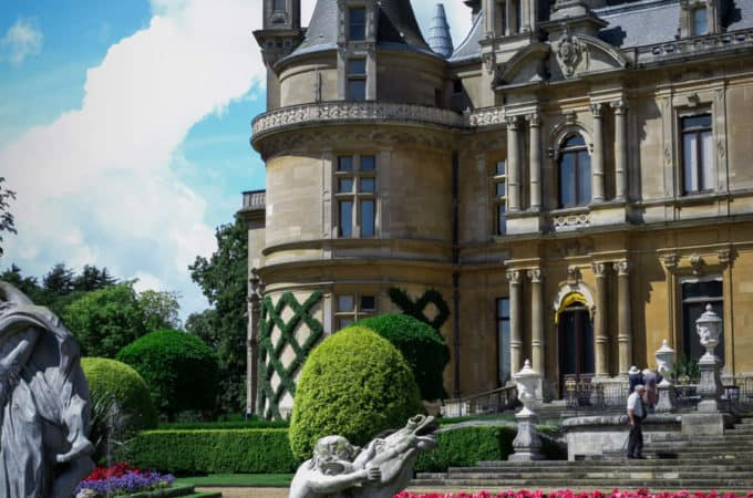 Beautiful Waddesdon Manor in Buckinghamshire | via @annabanana.co