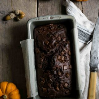 Spiced Pumpkin Chocolate Bread