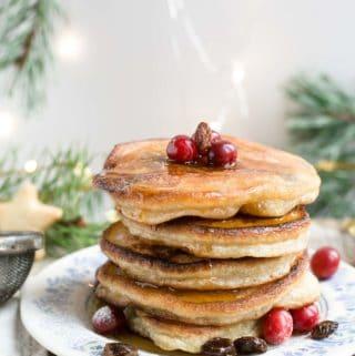 Rum & Raisin Pancakes