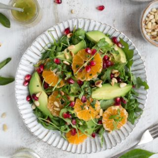 Avocado and Clementine Salad with Pomegranate