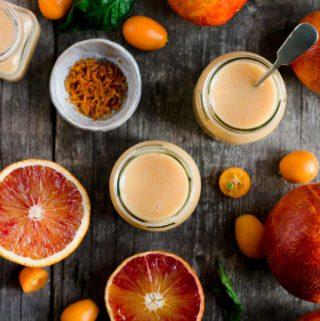 Vegan Blood Orange Curd