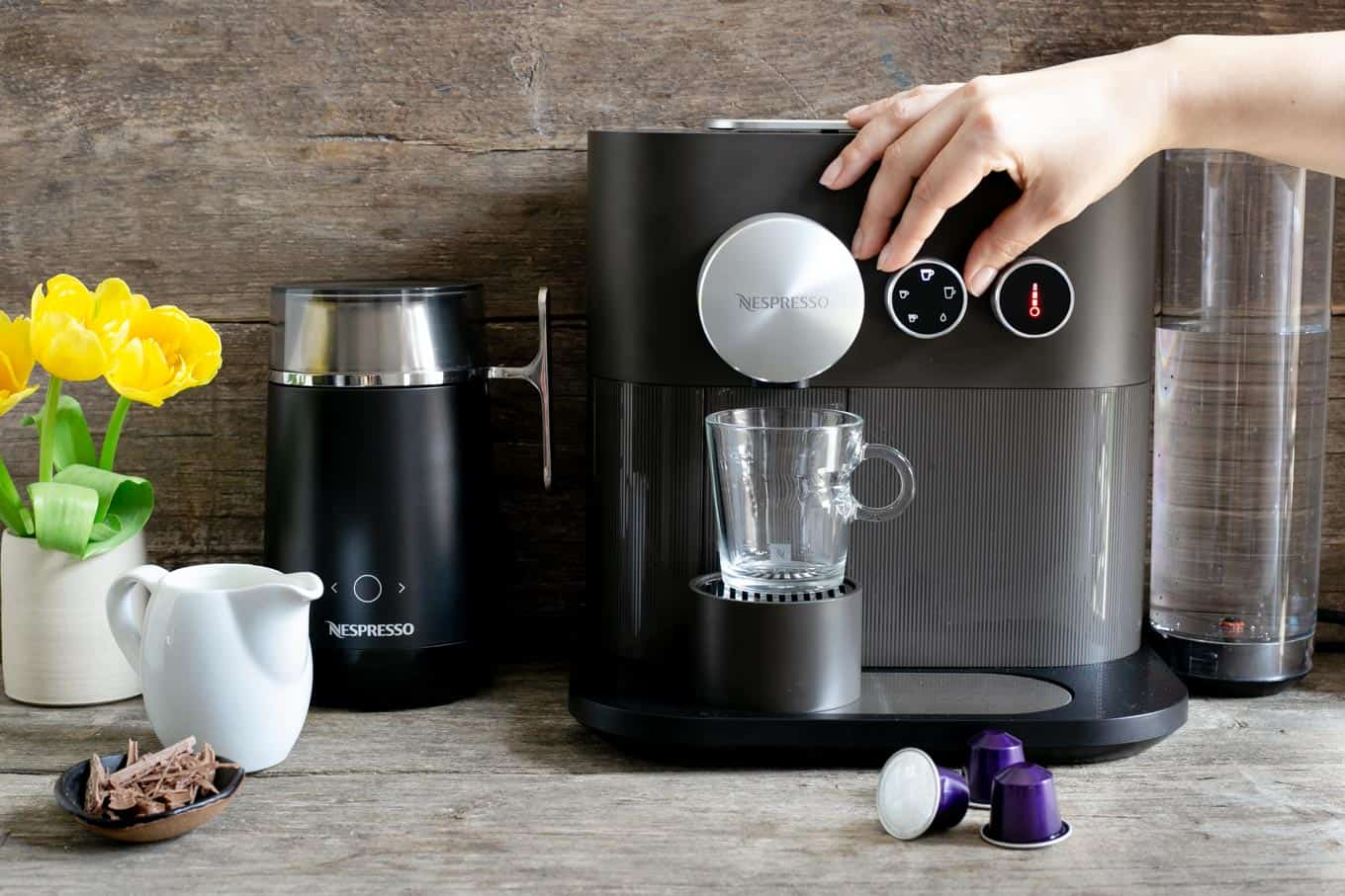 Nespresso Expert coffee machine #coffeelover #coffeerecipes | via @annabanana.co
