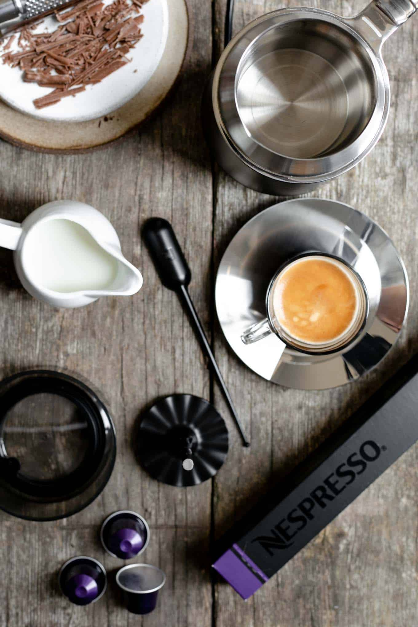 Nespresso Barista coffee recipes #coffee #icednitro #cafeviennois | via @annabanana.co