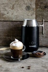Nespresso Barista coffee recipes- cafe Viennois and iced Nitro #coffee #nespresso