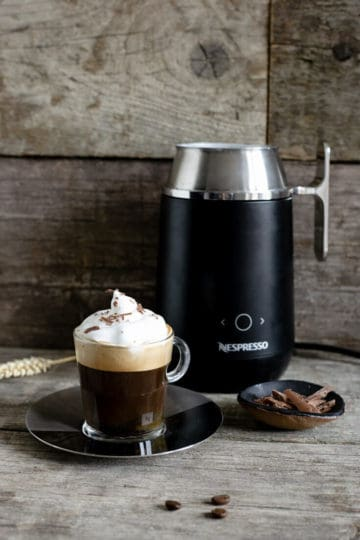 Nespresso Barista coffee recipes- cafe Viennois and iced Nitro #coffee #nespresso