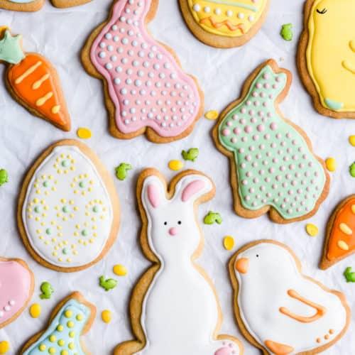 Easter Sugar Cookies 23